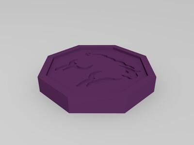 《成龙历险记》十二符咒-3d打印模型图片